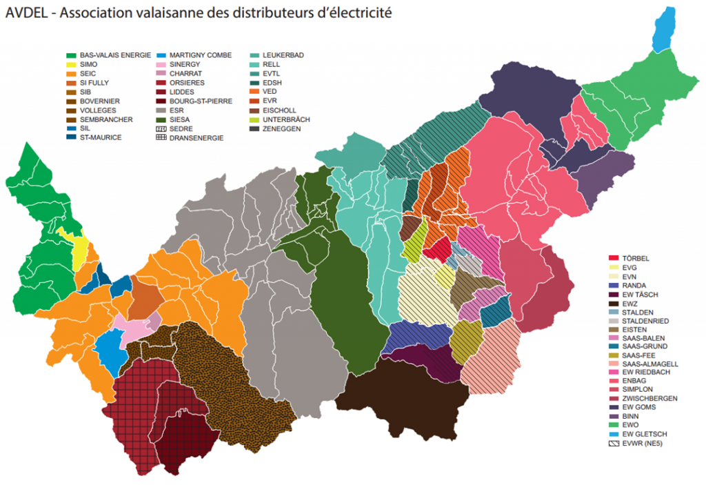 carte distributeurs
